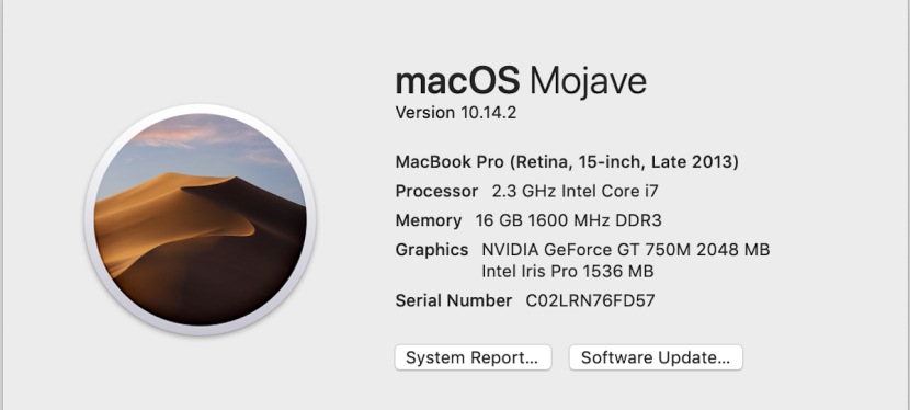 What is my MaC OS Version?