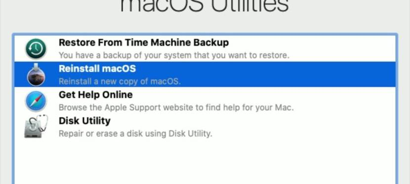 MAC OS Recovery Mode to reset your password